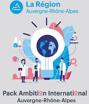 Projet « Pack Ambition International » Région Auvergne-Rhône-Alpes